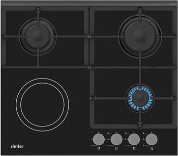Встраиваемая комбинированная варочная панель Simfer H 60 H 32 S 512 сувенир матрешка 5м h 11 512