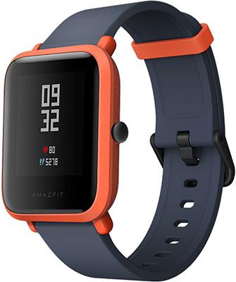 Часы Xiaomi Amazfit Bip оранжевый туники bip bip туника