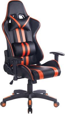 Кресло Tetchair iCar кож/зам черный/оранжевый кресло tetchair runner кож зам ткань черный жёлтый 36 6 tw27 tw 12
