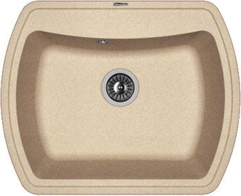 Кухонная мойка Florentina Нире-630 630х510 песочный FG искусственный камень