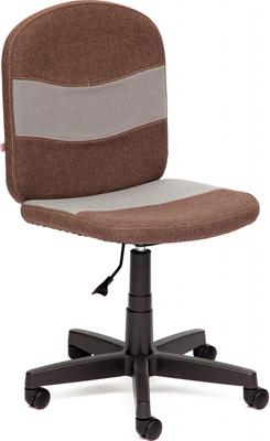 Кресло Tetchair STEP (ткань коричневый/серый 3М7-147/С27) tetchair стул компьютерный step