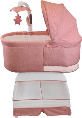 Детская кроватка BLISS Deluxe Коралловый меланж BA 302-VCO группа 1 от 9 до 18 кг liko baby lb 302