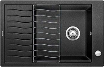 цены Кухонная мойка BLANCO ELON XL 6S SILGRANIT антрацит с клапаном-автоматом inFino 524834