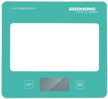 Кухонные весы Redmond RS-724 голубые весы кухонные электронные redmond rs 724