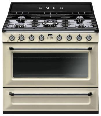 Комбинированная плита Smeg TR 90 P холодильник haier c2f636corg