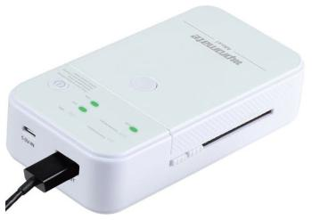Зарядное устройство портативное универсальное Promate Moxi белый крышка батареи для xbox360 батареи оболочки
