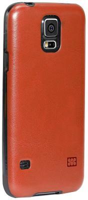 Чехол (клип-кейс) Promate Lanko-S5 коричневый чехол клип кейс promate lanko s5 коричневый