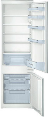 Встраиваемый двухкамерный холодильник Bosch KIV 38 X 22 RU холодильник bosch kgn39nw13r двухкамерный белый