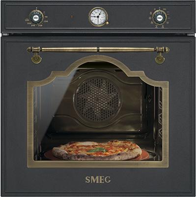 Встраиваемый электрический духовой шкаф Smeg SFP 750 AOPZ встраиваемый электрический духовой шкаф smeg sf 4920 mcb