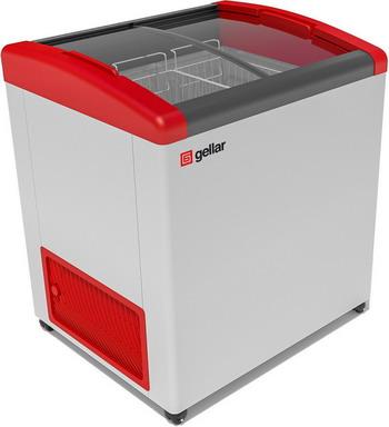 Морозильный ларь Gellar FG 250 E красный fg 17 zodd mc1 m