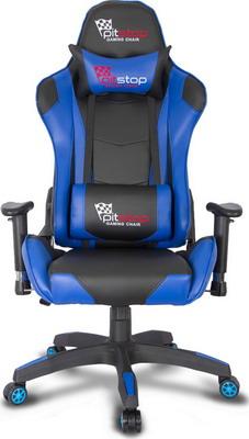 Кресло College XH-8062 LX черное с синим