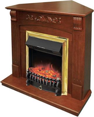 Каминокомплект Royal Flame Sorrento угл.с очагом Fobos BR орех royal flame fobos fx brass rb std5brfx 64905218