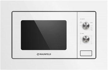 Встраиваемая микроволновая печь СВЧ MAUNFELD MBMO.20.2PGW lg mb65w95gih white свч печь с грилем