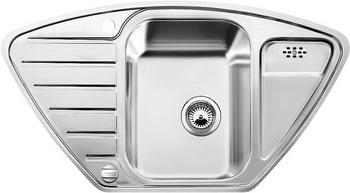 Кухонная мойка BLANCO LANTOS 9E-IF полированная нерж. сталь с клапаном-автоматом кухонная мойка blanco andano 500 180 u нерж сталь полированная с клапаном автоматом правая