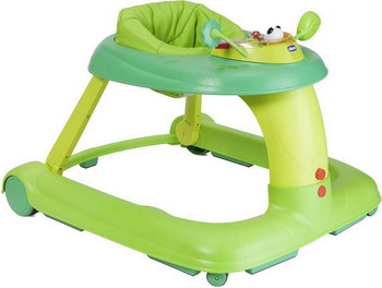 Ходунки-качалка Chicco 123 Baby Walker Green 06079415510000 wooden toddle walker dolls pram safer wooden baby walker