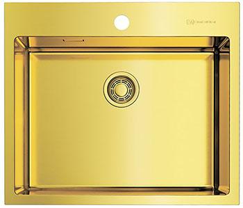 Кухонная мойка OMOIKIRI AKISAME 59-LG нерж.сталь/светлое золото (4973082)