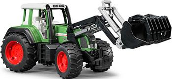 Набор Bruder Fendt Favorit 926 Vario с погрузчиком 02-062 трактор bruder fendt 936 vario с погрузчиком 03 041