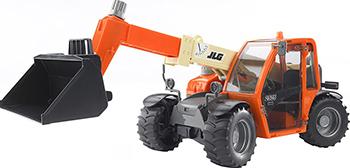 Погрузчик колёсный Bruder JLG 2505 Telehandler с телескопическим ковшом 02-140