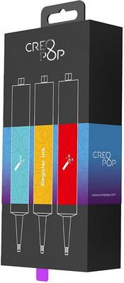 Чернила для 3D ручки классические (Cyan, Orange, Red) CreoPop SKU 002 yaya cg07jn 002 3d printer 1 75mm abs filament orange 50g 20 meters