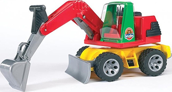 Экскаватор Bruder ROADMAX 20-050 bruder трактор погрузчик roadmax