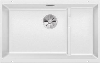 Кухонная мойка BLANCO SUBLINE 700-U Level SILGRANIT белый с отв.арм. InFino 523542 blanco 700 u level 520666