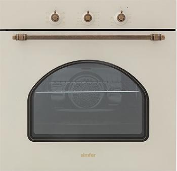 Встраиваемый электрический духовой шкаф Simfer B 6EO 18017 встраиваемый газовый духовой шкаф simfer b6gm12011