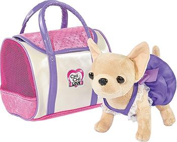 Собачка Simba Чихуахуа Chi-Chi love в платье  с сумкой  20 см 5897407 корм для собак pro plan athletic для крупных пород курица сух 14кг