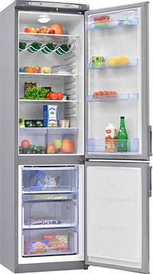 Двухкамерный холодильник Норд DRF 110 ISN нержавеющая сталь холодильник beko rcnk365e20zx двухкамерный нержавеющая сталь
