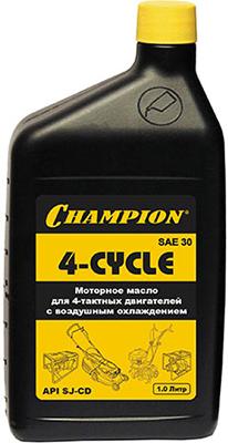 Масло для 4-тактных двигателей минеральное Champion SAE 30 1 л 952810