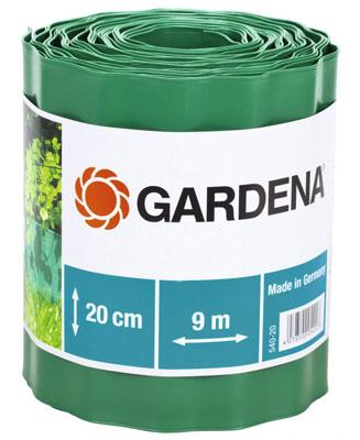 Садовый бордюр Gardena зеленый 20 см длина 9 м 00540-20 датчик дождя gardena 01189 20