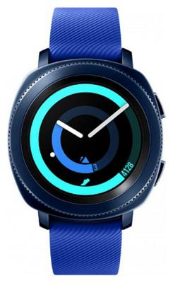 Умные часы Samsung Gear Sport SM-R 600 синий автокресло britax romer kidfix xp wine rose