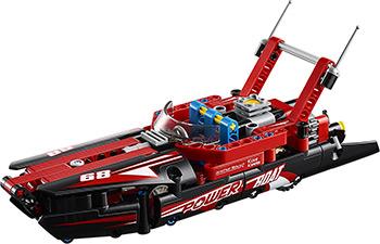 Конструктор Lego TECHNIC Моторная лодка 42089 кровать сканд мебель актив 1 к