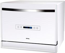 Компактная посудомоечная машина Korting KDF 2095 W korting kch710k w