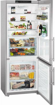 Двухкамерный холодильник Liebherr CBNesf 5133 двухкамерный холодильник liebherr cuwb 3311