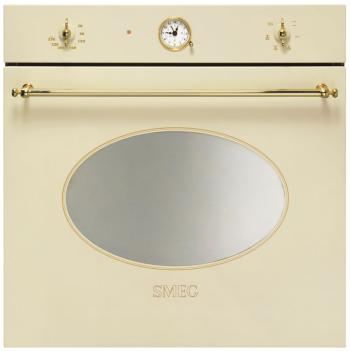 Встраиваемый электрический духовой шкаф Smeg SF 800 P встраиваемый электрический духовой шкаф smeg sf 4920 mcb
