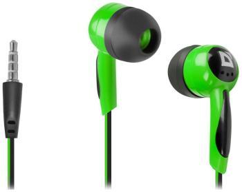все цены на Наушники Defender Basic 604 черный+зеленый 63607