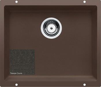 Кухонная мойка Zigmund amp Shtain INTEGRA 500 темная скала