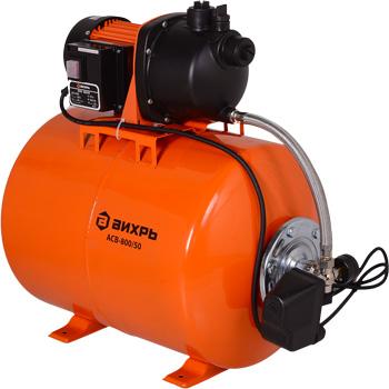 Насос Вихрь АСВ-800/50 автоматическая станция водоснабжения вихрь асв 800 24н