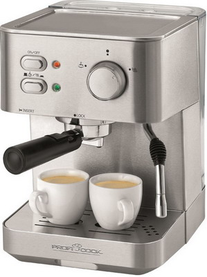 Кофеварка Profi Cook PC-ES 1109 кофеварка рожковая ariete 1389 espresso vintage celeste
