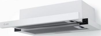 Встраиваемая вытяжка Lex HUBBLE 600 WHITE вытяжка lex hubble 600 white