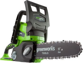 Цепная пила Greenworks G 24 CS 25 2000007 аккумуляторная цепная пила greenworks g24cs25 2000007