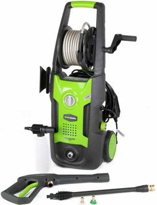 Минимойка Greenworks G4 130 bar 5100307 минимойка bosch aqt37 13 130 бар 370 л ч