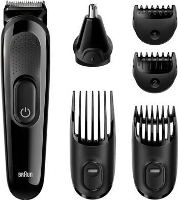 Набор для стрижки волос BRAUN MGK 3020 Black (3/504) триммер для бороды и усов braun bt 3020 black 3 504