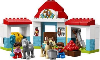 Конструктор Lego DUPLO Town: Конюшня на ферме 10868 конструктор lego принцессы дисней королевская конюшня невелички
