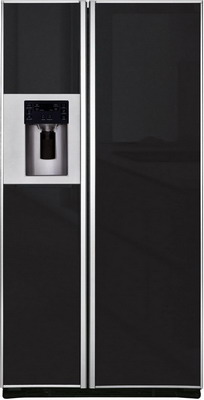 Холодильник Side by Side Iomabe ORE 24 CGFFKB GB черное стекло холодильник side by side iomabe ore 24 cghfbb черный