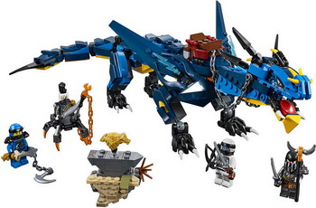 Конструктор Lego Ninjago: Вестник бури 70652
