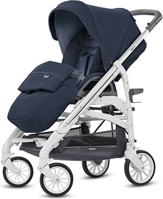 Коляска Inglesina Trilogy System Duo 2 в 1 на шасси Trilogy City White (AA 34 K6IPB AE 38 K 3200) IMPERIAL BLUE KA 38 детская коляска 2 в 1 esspero discovery grand шасси black