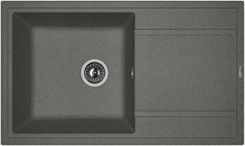 Кухонная мойка Florentina Липси-860 860х510 черный FG искусственный камень