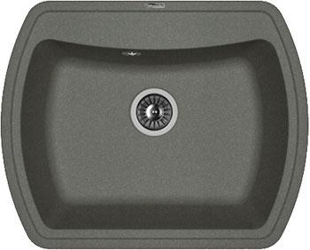 Кухонная мойка Florentina Нире-630 630х510 черный FG искусственный камень мойка florentina нире 480 грей