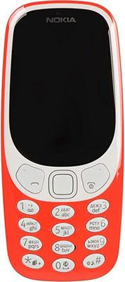 Мобильный телефон Nokia 3310 DS (2017) красный мобильный телефон nokia 3310 ds yellow